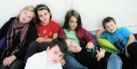 Beatboxowe dzieciaki w klubiku 'Tamika' w Warszawie