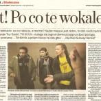 """Gazeta Stołeczna """"Tiit! Po co te wokale?"""""""