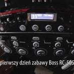 Pierwszy dzień zabawy Boss RC-505