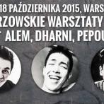 Alem, Dharni, Pepouni – Mistrzowskie warsztaty beatbox w Warszawie!